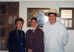 Milton Historical Society Event.  Performance exhibition about early pioneers at E. W. Foster School.  February 1998.