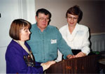Helen Comber, Don Taylor, Ruth Taylor