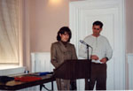 Milton Heritage Awards. Judy and Paul Boivan, winners of the 1995 Award for Architecture.