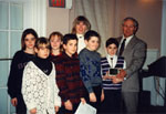 Milton Heritage Awards. Robert Baldwin School, winners of the 1995 Award for Education.