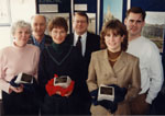 Milton Heritage Awards.    Winners of the 1995 awards for Architecture - Anna and Don Corker, Jim and Patricia Douglas, Paul and Judy Boivan