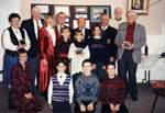 Milton Heritage Awards. Group picture of the 1995 award winners.