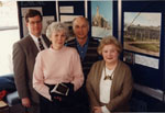 Milton Heritage Awards.  Winners and presenters some of the 1995 awards.