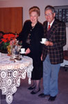 New Year's Levee.  Marjor Powyes and Joe Henderson