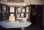 New Year's Levee. Display by Milton Historical Society.