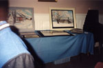 Milton Heritage Awards.  February 1997.  Display by the winners of the 1996 Visual Arts Award category.