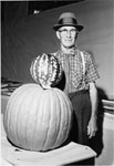 Fall Fair, Milton.  Largest pumpkin in show.