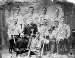 Omagh Baseball Team - 1889 - Maple Leafs