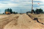 Road construction, Milton