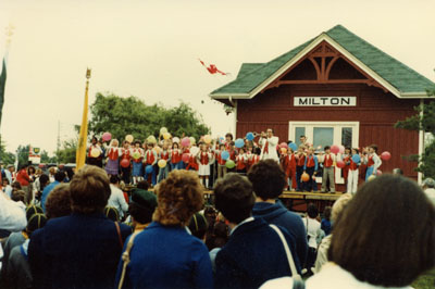 125th Anniversary of the founding of the town of Milton, Ontario
