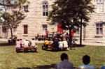 Opening of the Town of Milton Municipal Offices, 1985