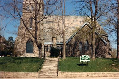 Grace Anglican Church, Main St., Milton, Ont.