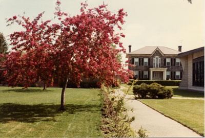 Holy Rosary Church grounds, Milton, Ont.