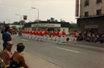 Parade for Provincial Firemen's Convention, Main Street, Milton