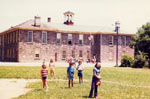 Bruce Street Public School and the School Commons 1857-1972.