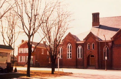 St. Paul's United Church, Milton.