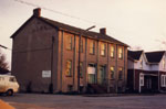 Houses on Mary St. south side, Milton, Ont.