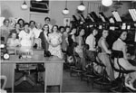 Bell Telephone operators, 1955. Milton, Ont.