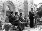 Opening of the new Town Hall. 1985