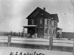 D. S. Robertson's house.