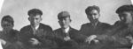 Five men in a row