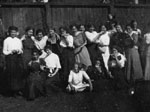 Large group of women