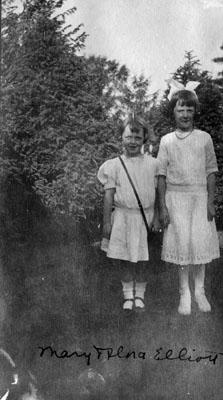Mary and Flora Elliott