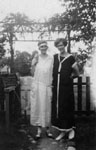 Aggie Willmott and Constance Hunter