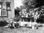 "Willmott - ""Mum & Dad's Golden Wedding, 28-7-48. Presents and flowers."""