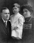 Earl Newton, Clara Newton and Edward Newton