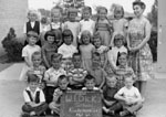 Kindergarten class photograph.  W. I. Dick School.