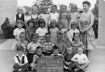 Kindergarten class photograph.   W. I. Dick School