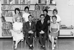 School Staff photograph.  1963-64