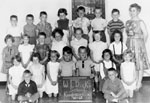 Kindergarten class photograph.   W. I. Dick School.