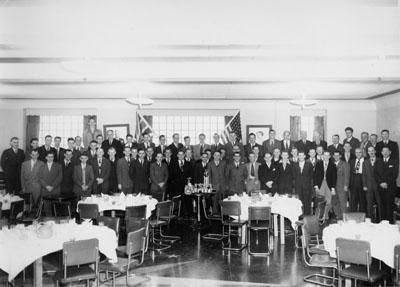 Bowling group, P. L. Robertson Company, Milton, Ont.