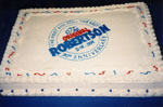 """Cake for launch of book """"P. L. Inventor of the Robertson Screw"""""""