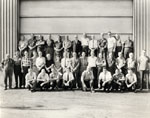 P. L. Robertson employees recognized for 2540 years of service.  1969.