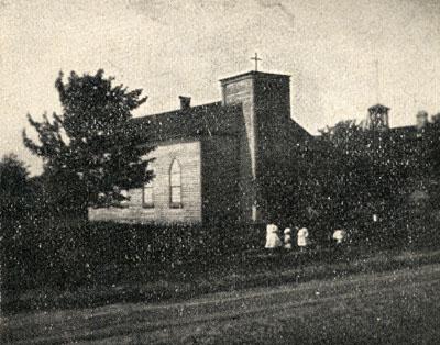 St. Andrew's Roman Catholic Church.  Pine Street, Milton, Ont.