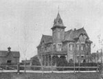 Residence of C. J. Lewis. Proprietor of Toronto Pressed Brick Co's Works, Milton.