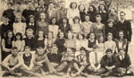Grade 7 class at Bruce Street Public School, Milton