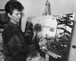 Barbara Ayres.  Artist