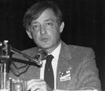 Richard Banigan.   NDP Candidate Oakville/Milton, 1988