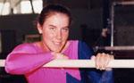 Vicki Chliszczyk.  Gymnast.