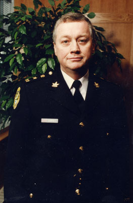 Peter Campbell.  Halton Police Chief