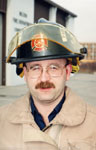 Mark Cross, Fire Dept. Spokesperson