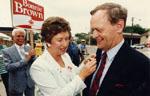 Bonnie Brown and Jean Chretien
