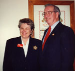 Walt Elliot and Lyn Mcleod.