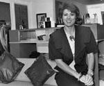 Lesley Goertzen.  Fashion retailer