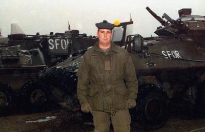 Private Matthew Herder, Bosnia