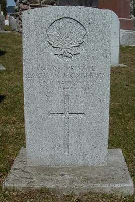 CWGC marker for the grave of Private Lachlan James Kingsbury